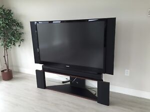 """Toshiba 61"""" TV with Stand"""