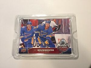 2017-18 Upper Deck NHL Winter Classic Jumbo#WC-9 Jay Bouwmeester