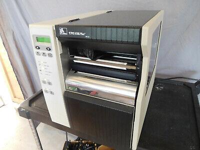 Zebra 170xiiii Plus Thermal Label Printer Excellent