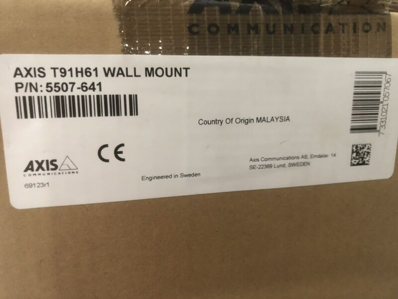 Axis Communications T91H61 Outdoor/indoor Wall Mount Kit 5507-641