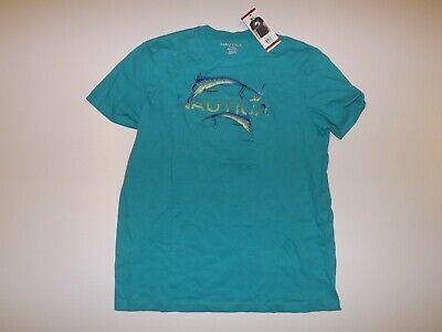 NAUTICA Brighton Blue Graphic Logo Crewneck T Shirt XL Extra Large NWT Mens