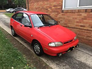 1994 Ford Fiesta. 6 months rego North Strathfield Canada Bay Area Preview