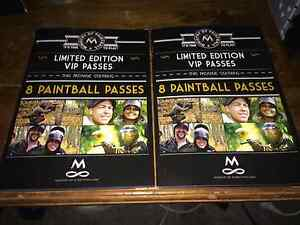 Two Limited Edition Paintball Passes (16 people) Valentine Lake Macquarie Area Preview