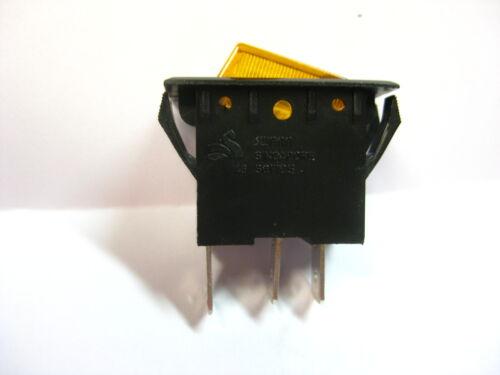 Paragon thearter pop 8 12 16 Rocker Switch Swann 43 Lighted Amber  15A 120v