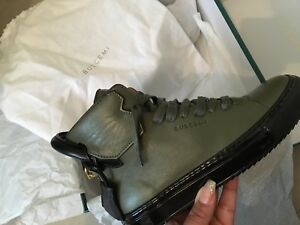 Olive Buscemi Hightop sneakers