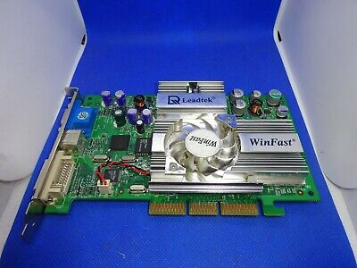LEADTEK WinFast A250LE Nvidia GeForce Ti 4200 128MB VGA TV-OUT DVI AGP 4X#GK1495