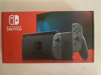 Nintendo Switch HAC-001(-01) 32GB Console with Gray Joy‑Con *IN HAND*