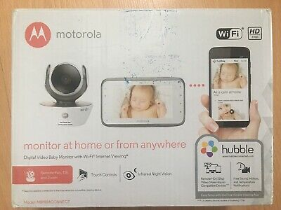 Motorola MBP854 Connect Digital Video Baby Monitor With WiFi Internet Viewing