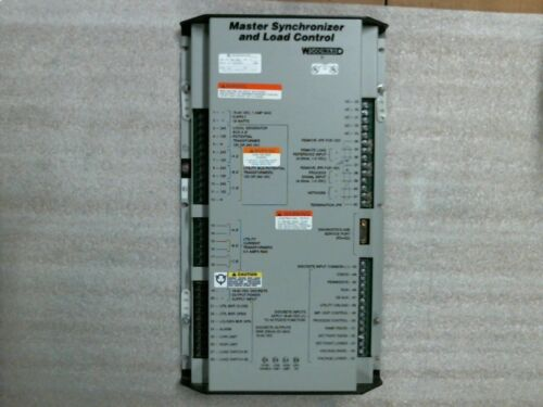 Used Woodward 9907-004 Rev P Master Synchronizer And Load Control - 60 Day Wnty