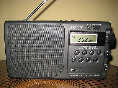 SONY ICF-M760S Radio FM SW MW 3 Band Receiver online kaufen