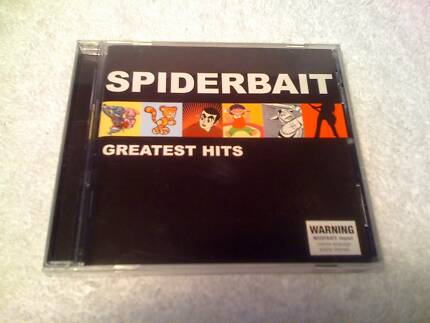 CD Best Of - SPIDERBAIT: Greatest Hits Kenwick Gosnells Area Preview