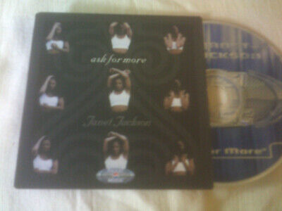 JANET JACKSON - ASK FOR MORE - CARD SLEEVE CD SINGLE