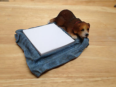 Paper Holder - Puppy Chewing on Blanket