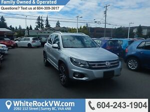 2017 Volkswagen Tiguan Highline Leather Upholstery, Heated Fr...