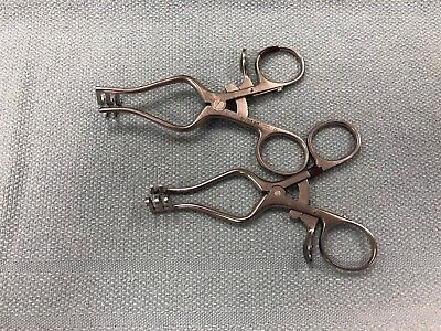 Aesculap Bv73r Weitlaner Retractor - Lot Of 2