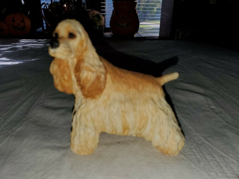 Tan Cocker Spaniel Figurine