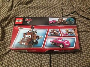 Cars 2 lego 8424 new in box