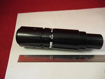 Optem 25-70-49 Video Inspection 0.5x Attachment Microscope Part Optics 33-b-16