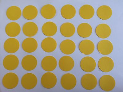 30 Kreise Gelb Tonpapier 3,8 cm Stanzteile/Streuteile (Gelber Kreis Papier)