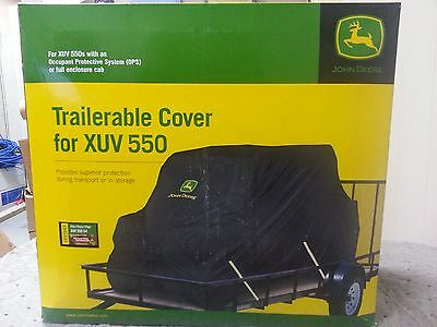John Deere LP37043 Trailerable Cover for XUV550 4Seat Utility Vehicle - CAMO