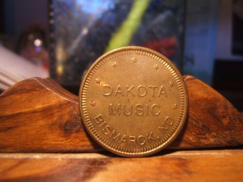 2 - DAKOTA MUSIC  - BISMARK, ND Tokens