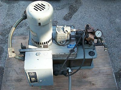 Vickers Hydraulic Pump Power Unit Chj0-712-2