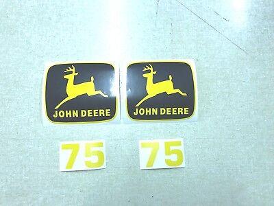 John Deere 75 Loader Decals