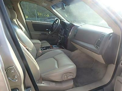 2006 CADILLAC SRX Tan/Brown Left Driver Rear Door Trim Panel W/ Window  Switch