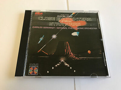 John Williams Close Encounters Of The Third Kind Star Wars RCA Red Seal RARE CD
