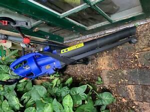 lawn mower, blower, weed wacker