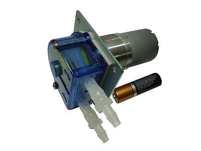 Mini Peristaltic Planetary Tygoprene Oem Tubing Pump 12 Vdc 360 Mlmin Pmp200g