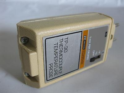 Bk Precision Dynascan Tp-30 Thermocouple Temperature Probe