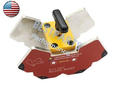 Multi-angle 45607590105135120magnetic Welding Clamp 265lbs Wswitch