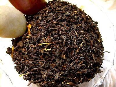 Tea Apple Spiced Black Currant Loose Leaf  Asian Black Blend Naturally Flavor CB Black Currant Flavored Tea