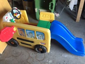 Toddler School bus learning/play centre