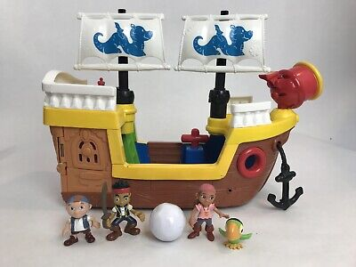 Fisher Price Little People Musical Lil Pirate Ship Playset w/ Jake Bonus Figures