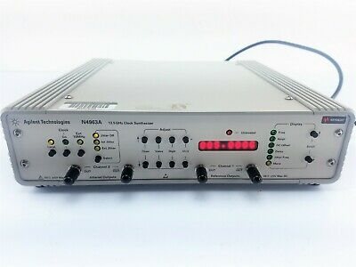 Agilent Hp Keysight N4963a Clock Synthesizer 13.5 Ghz - Oem Calibrated