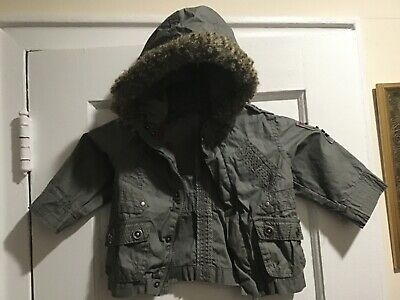 Zara Baby Boy Gray Light Weight  Jacket 6-9 Mos. VGUC