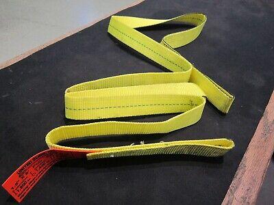 1.5 X 8 Ft Nylon Polyester Web Lifting Sling Tow Strap 1 Ply Ee-1-615 Eye Eye