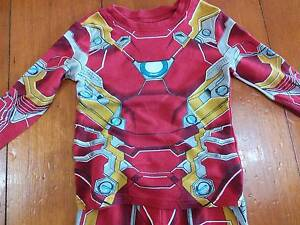 Size 2 - boys Pajamas - 3 pairs and dressing gown. Coorparoo Brisbane South East Preview
