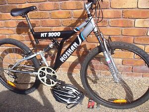 DUAL SUSPENSION MTB WITH HELMET & LOCK Coombabah Gold Coast North Preview