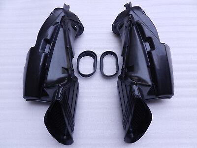 One Pair Black Ram Air Intake Tube Duct Pipe For SUZUKI GSXR 600 750 2006-2007