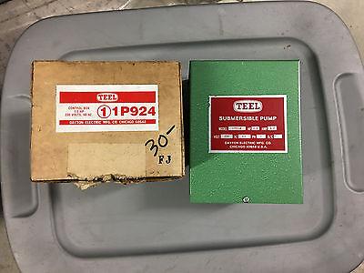 Dayton Electric Submersible Motor Control Box 12 Hp 230v Model 1p924