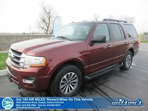 2017 Ford Expedition XLT | 4WD | SUNROOF | LEATHER | HTD+COOLED