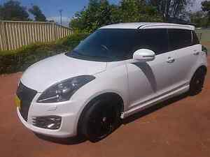 SUZUKI SWIFT SPORT 2014 AUTO WITH GEAR SHIFT PADDLES Charmhaven Wyong Area Preview
