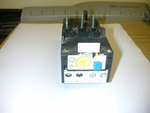 GENERAL ELECTRIC RTM1K OVERLOAD RELAY 2.5 - 4 A