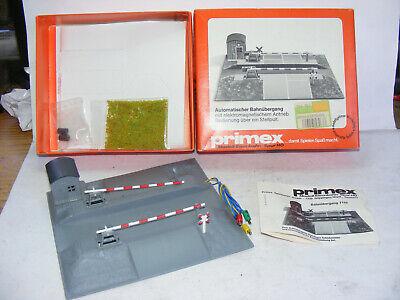 ET, Märklin Primex 7155, Automatischer Bahnübergang, ovp, unbenutzt, selten !!