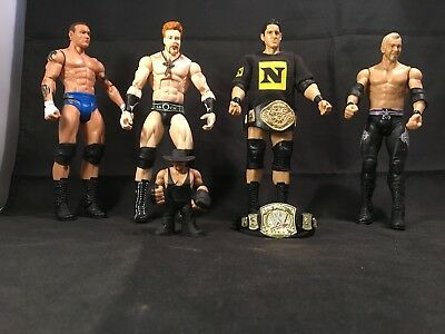 WWE Action Figures Collectables – Wade Barret / Sheamus / Orton / Christian +++ for sale  Shipping to Canada