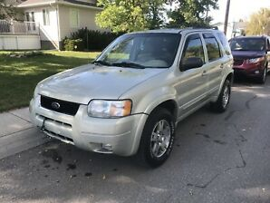 2003 FORD ESCAPE LIMITED EDITION MINT CONDITION