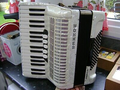 HOHNER CONCERTO 72 BASS PIANO ACCORDION LIGHTWEIGHT MODEL